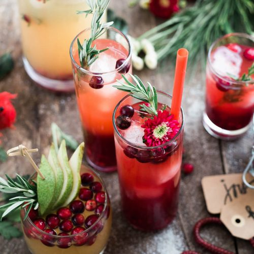 Hibiscus Mint Tea Icetea Red