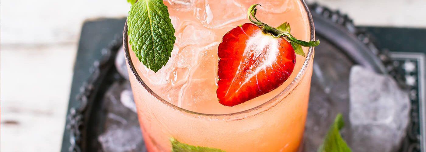 B and Honey Strawberry Smoothie