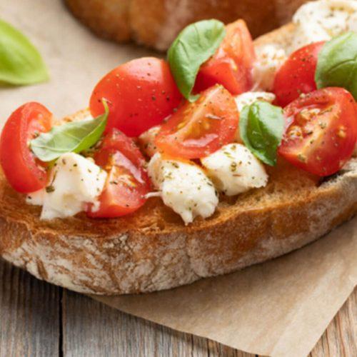 Tomato Bruschetta Con Tutto