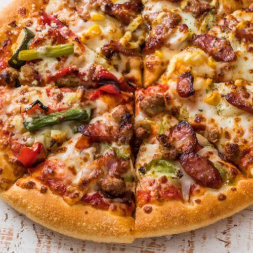 Pizza Margherita Con Tutto Olio